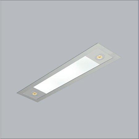 Embutido Retangular Ruller 1.50x20cm - Usina Design 3720-150F
