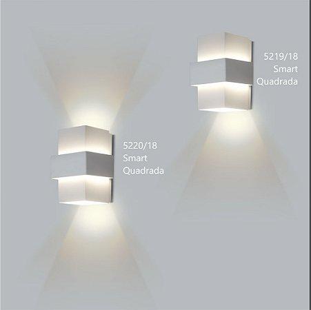 Arandela Quadrada Smart 12 cm - Usina Design 5220-18