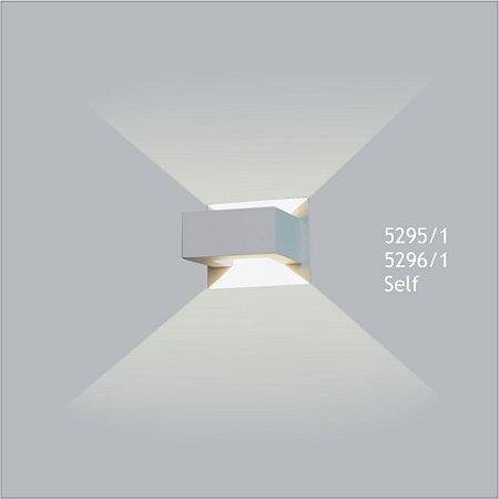 Arandela Retangular Self 12,5 x 11,5 cm - Usina Design 5295-1