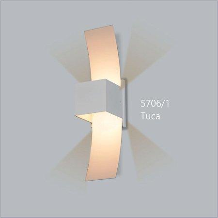 Arandela Quadrada Tuca Direta 30,5 cm - Usina Design 5706-1