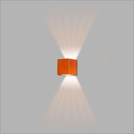 Arandela Quadrada Frisa Lente e Lente 10 cm - Usina Design 5766-2