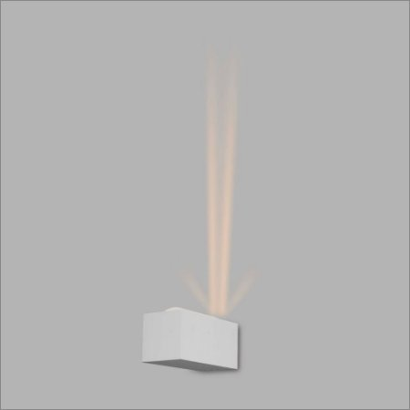 Arandela Retangular Vidro e Lente Astro 18 cm - Usina Design 5770-2