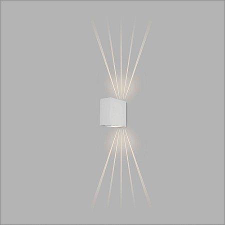 Arandela Retangular Vidro e Vidro Halley 18 cm - Usina Design 5772-2