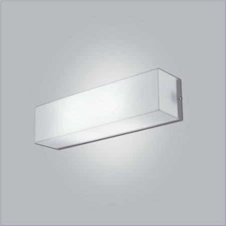 Arandela Retangular Acrílico Polar 31 x 10 cm - Usina Design 10110-31