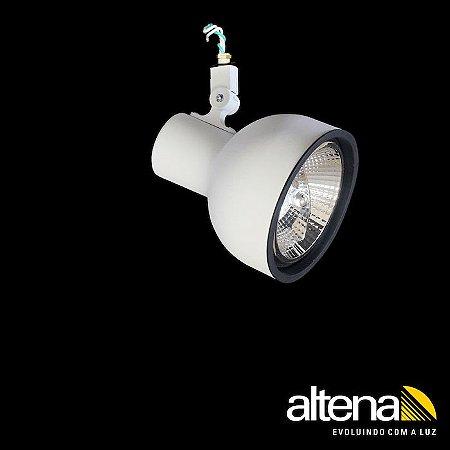 Spot Dome sem Canopla Branco Fosco - Altena ILuminação