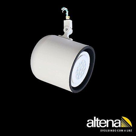 Spot Giga sem Canopla Branco Fosco - Altena ILuminação