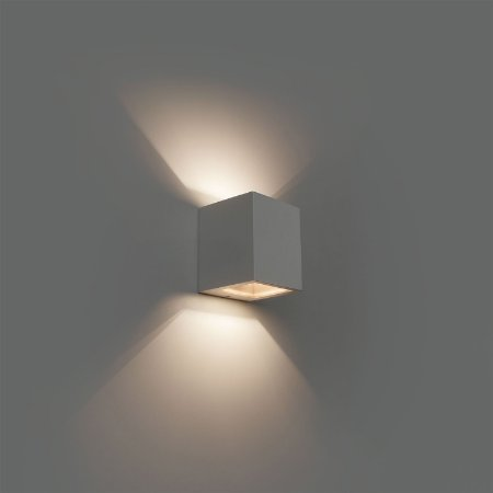 Arandela Kube Led L490/3 - Dimlux Iluminação