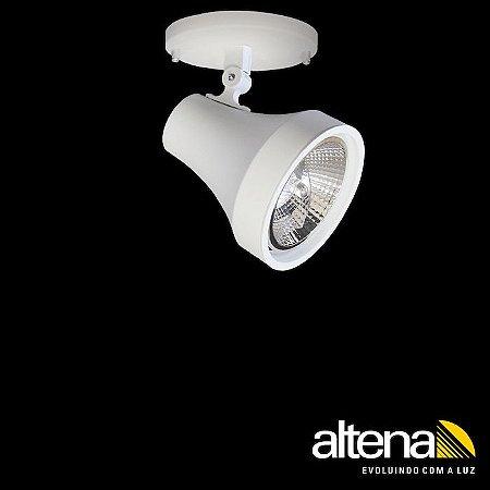 Spot Soft com canopla Branco Mono - Altena Iluminação