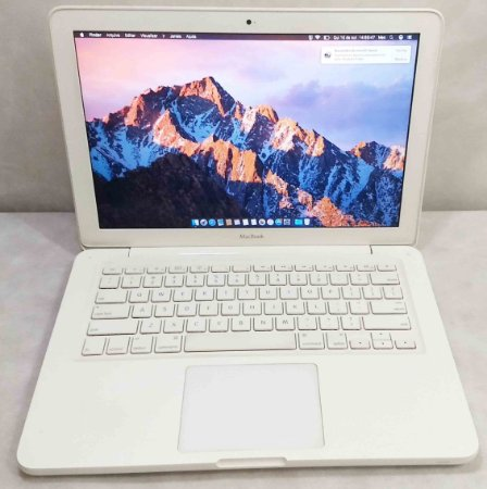 Macbook White MC207LL/A 13.3'' Core 2 Duo 2.26GHz 8GB HD-250GB