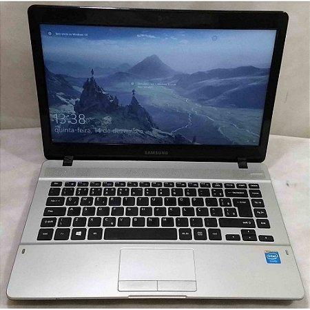 Notebook Samsung NP3700E4k Intel Celeron 1.5GHz 4GB HD-500GB