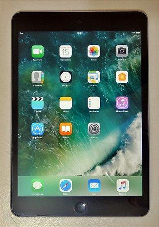 """iPad Mini 2 ME276LL/A 7,9""""(Retina), 16GB, Wi-Fi, Bluetooth - Grafite"""