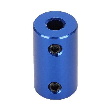Acoplamento rígido de alumínio 5x8mm