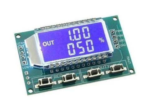 Gerador de Sinal PWM com Display LCD e ajuste de Frequência - 1Hz-150Khz