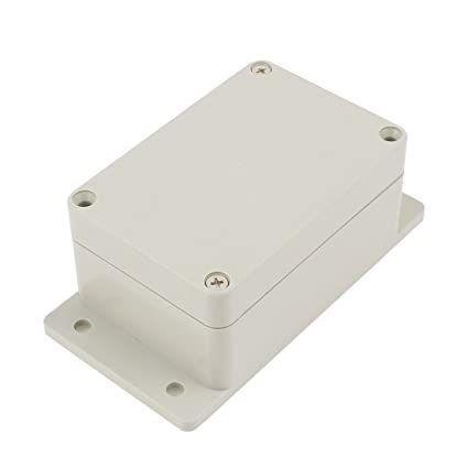Caixa Plástica Case para Montagem ABS 100x68x50mm Branca