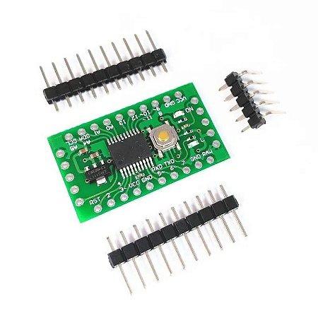 Placa Pro Mini EVB LGT8F328P (Compatível com Arduino)
