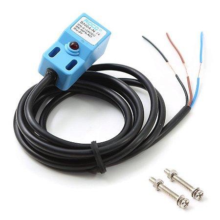 Sensor Indutivo de Proximidade NPN SN04-N 10 a 30V
