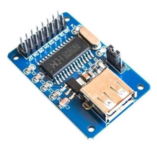 Modulo USB Host CH376A interface serial