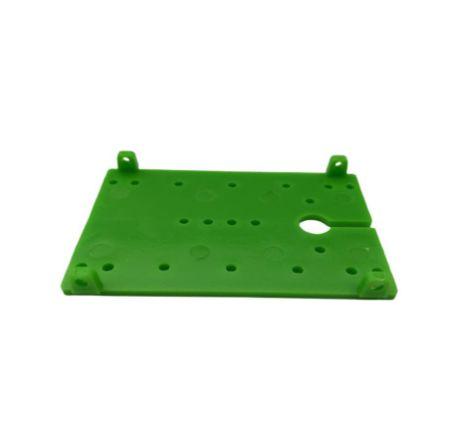Base Plastica FK4060 perfurada p/ projetos DIY 60x40x2mm