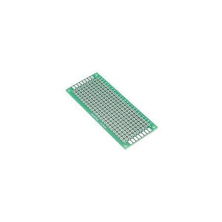 Placa de Circuito Impresso Ilhada 240 furos - 3x7cm