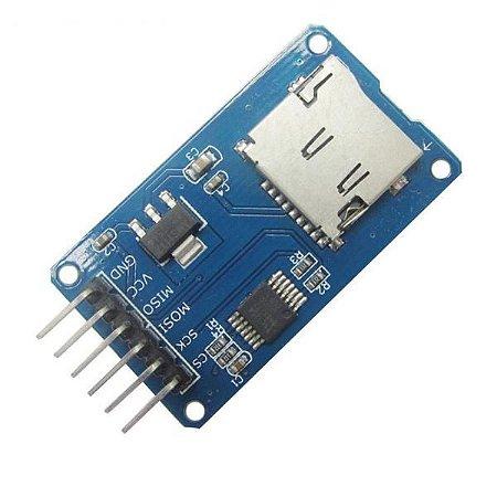 Módulo Leitor Gravador MicroSD card