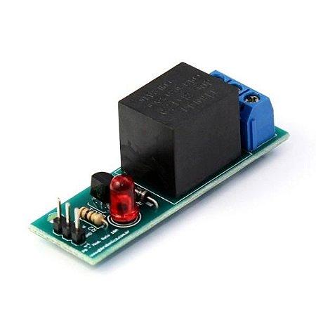 Módulo Relé 5V 10A 1 Canal - GBK Robotics