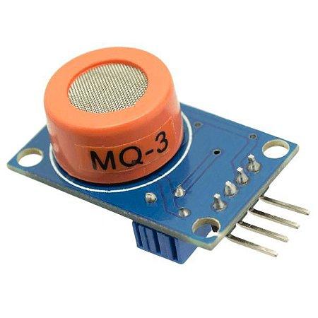 Sensor De Gás MQ-3 Álcool / Etanol
