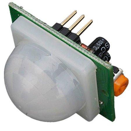 Sensor de Presença Piroelétrico (PIR) HC-SR501