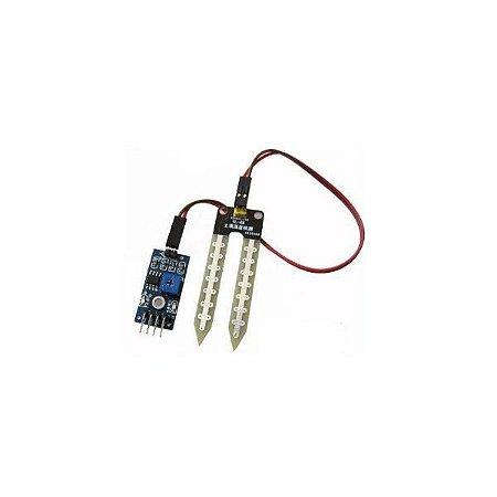 Sensor de detecção de umidade do solo