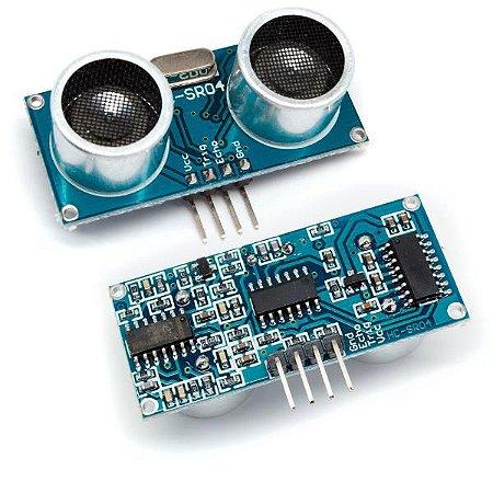 Sensor medidor de distância ultrassônico HC-SR04 (4 PINOS)
