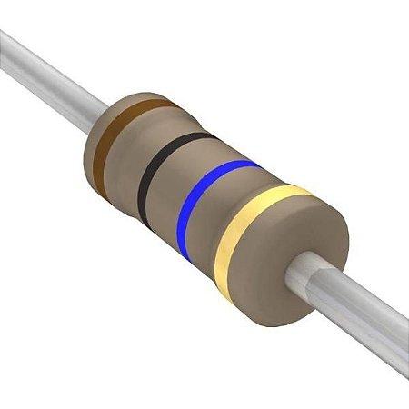 Resistor 1/4W 10M Ohms x 10 Unidades