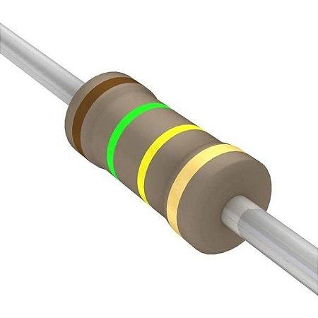 Resistor 1/4W 150K Ohms X 10 Unidades