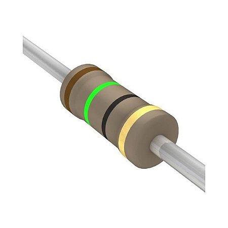 Resistor 1/4W 15R Ohms x 10 Unidades