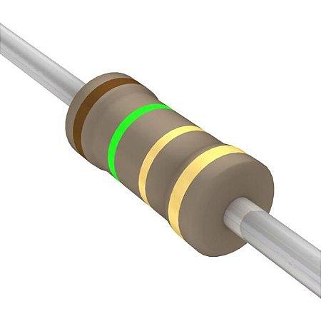 Resistor 1/4W 1R5 Ohms X 10 Unidades