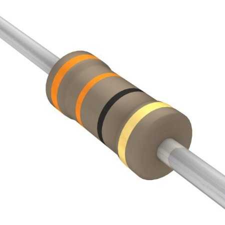 Resistor 1/4W 33R Ohms X 10 Unidades