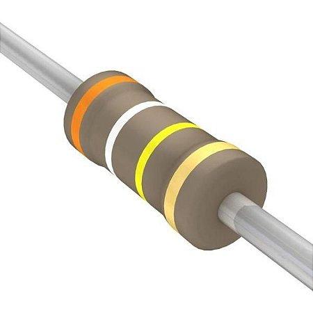 Resistor 1/4W 390K Ohms X 10 Unidades