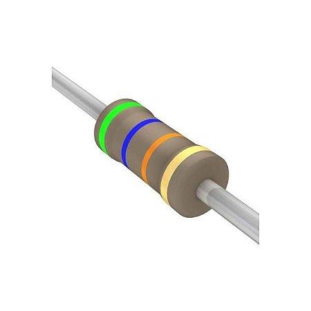 Resistor 1/4W 56K Ohms X 10 Unidades