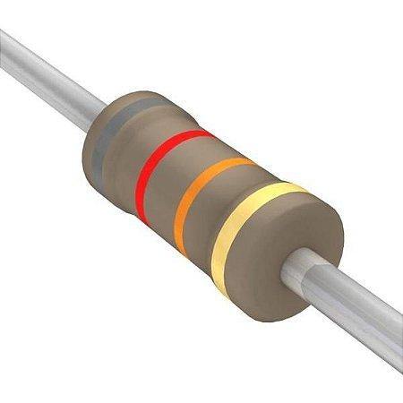 Resistor 1/4W 82K Ohms X 10 Unidades