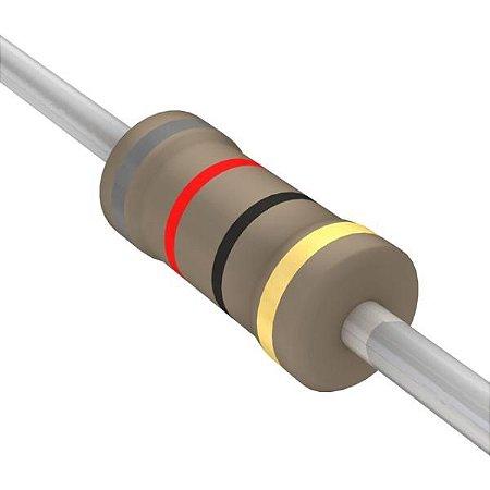 Resistor 1/4W 82R Ohms X 10 Unidades