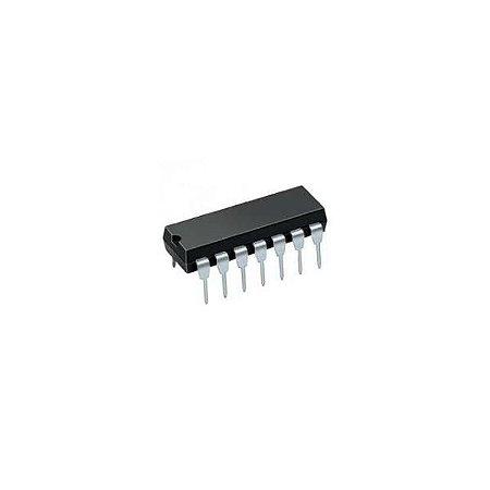 7410 DIP 14 pinos - (Triplo NAND de Triplas entradas)