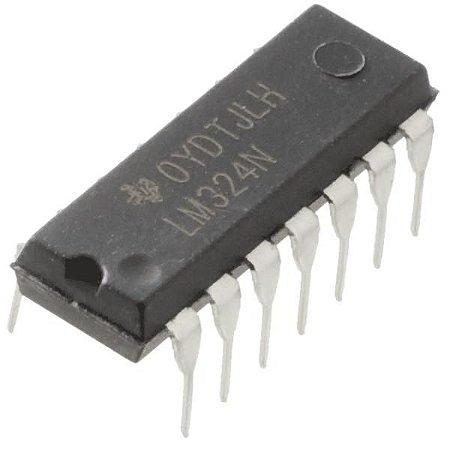 LM324 Amplificador Operacional Quádruplo de baixa potência