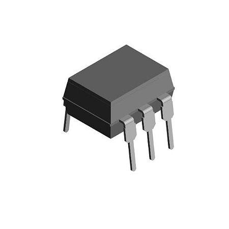 Optoacoplador 4N25 DIP 6 Pinos