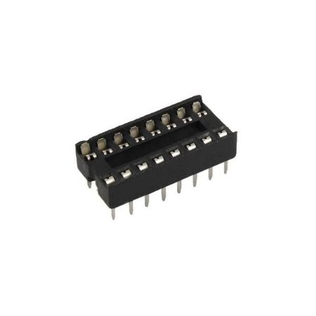 Soquete estampado para Chip DIP 16 PINOS