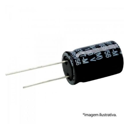 Capacitor Eletrolítico 3,3uF 63V