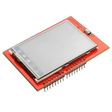 Shield Display LCD TFT 2.4″ Touchscreen para Arduino