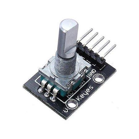 Módulo Encoder Rotativo com Botão - KY040