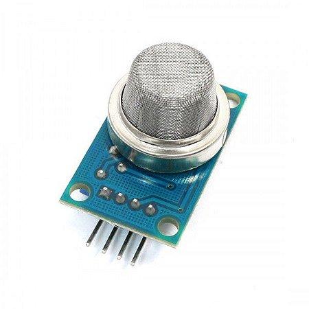 Sensor de Gás MQ-6- GLP (Gás de Cozinha), Propano, Isobutano e Gás Natural Liquefeito