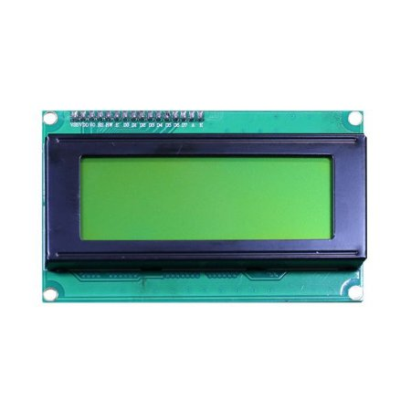 Display LCD 20×4 I2C Fundo Verde