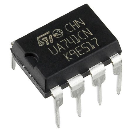 Circuito Integrado  Amplificador Operacional UA741