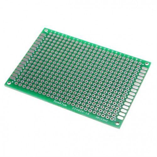 Placa de Circuito Impresso Ilhada 432 furos - 5x7cm