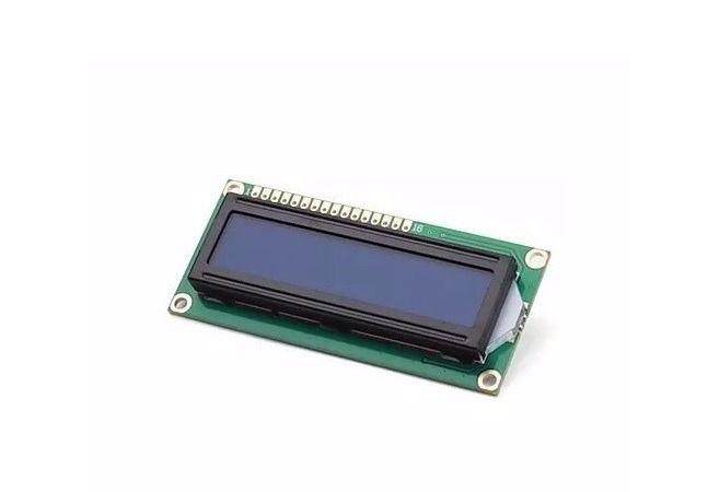 Display Cristal Líquido LCD 16x2 com Luz de fundo azul